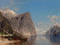 fjord by georg anton rasmussen
