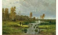 paysage by fyodor alexandrovich vasil'yev