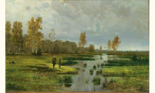 paysage by fyodor alexandrovich vasilyev