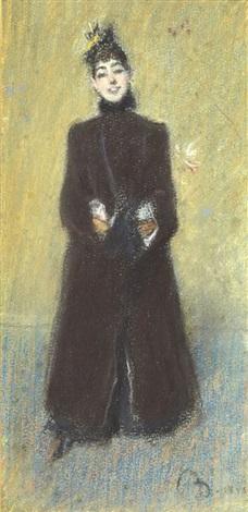 portrait de la comtesse de rasty by giovanni boldini