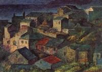 le village de centuri, en corse by josé fabri-canti