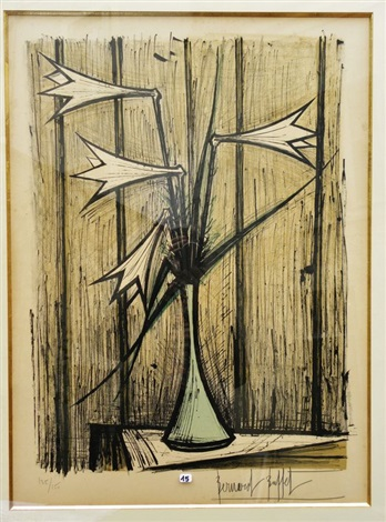les lys by bernard buffet