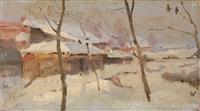 winter study by sergei ivanovich vasil'kovsky