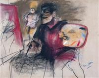 el pintor y la modelo by julio martinez howard