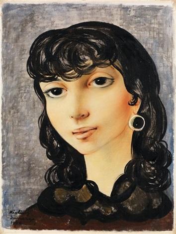 portrait de josane by moïse kisling