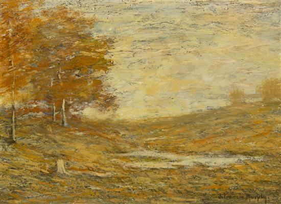 autumn landscape by john francis murphy