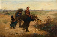 the wood gatherers by cornelis koppenol