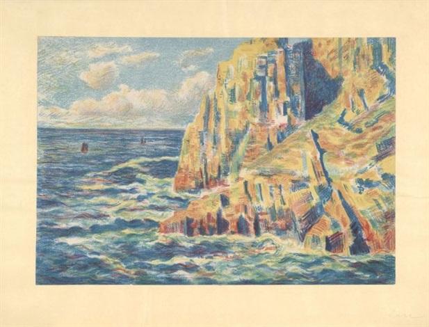 la mer à camaret by maximilien luce