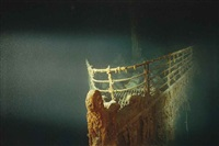 the titanic, atlantic ocean by emory kristof
