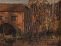 old watermill by mabel young