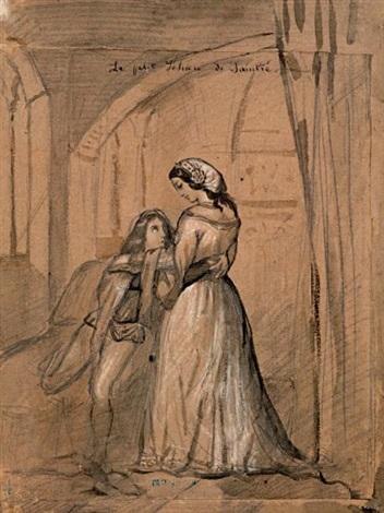 le petit jehan de saintré by théodore chassériau