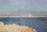 golfe d'antibes by claude monet