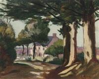 la maison de guillaumin à crozant by eugene alluaud