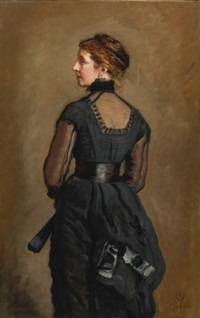 portrait of kate perugini, daughter of charles dickens by sir john everett millais