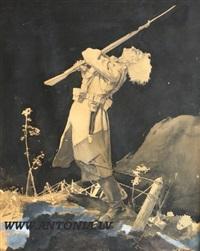 latvian rifleman by aleksandrs kruka