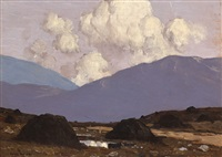 a bog road by paul henry