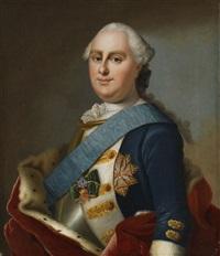 georg wilhelm landgraf zu hessen (1722-1782); seine gattin maria luise albertine landgräfin zu hessen, geborene zu leiningen-dagsburg-falkenburg (1729-1818) (pair) by johann christian fiedler