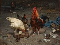 i hønsegården by karl kristian uchermann