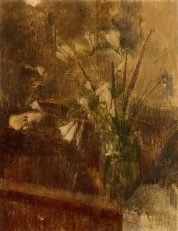 flowers in a vase by william coldstream