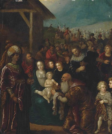 the adoration of the magi by frans francken the younger