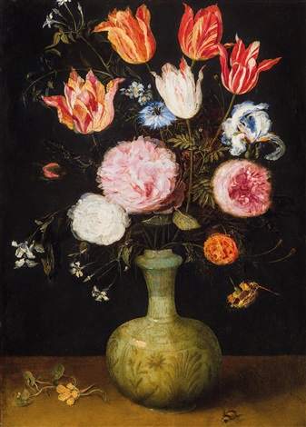 Still Life Of Flowers In A Vase By Jan Brueghel The Younger On Artnet