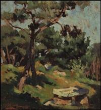 landscape (+ still life, verso) by rodolphe duguay