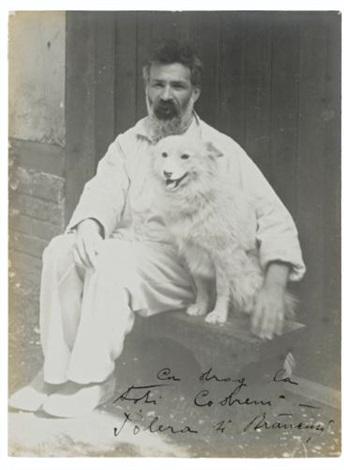autoportrait avec son chien polera by constantin brancusi
