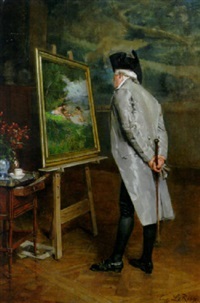 the connoisseur by louis eugène leroux