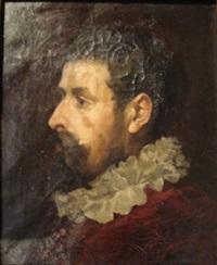 portrait d'homme à la fraise by josé miralles darmanin