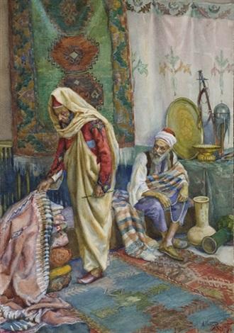 marchands de tapis by albert rosati