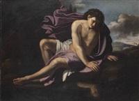 narcisse by orazio gentileschi