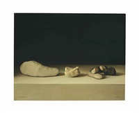 still life with stones by claudio bravo