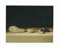 still life with stones by claudio bravo