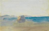 paysage luministe by hercules brabazon brabazon