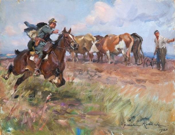 w polu by woiciech aldabert ritter von kossak