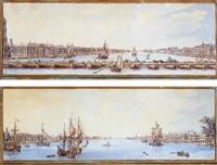 vue de saint-petersbourg by nicolas louis de lespinasse