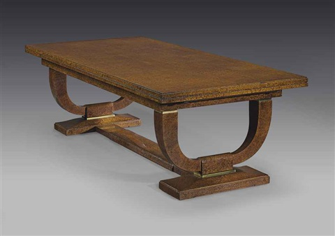 extending dining table by émile jacques ruhlmann