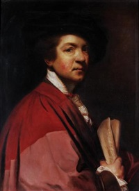 self-portrait of reynolds by v. bianchini