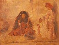 scène orientaliste by joseph saint-germier