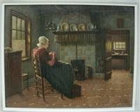 interior scene by r. blum