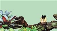 tropical pool by su-en wong