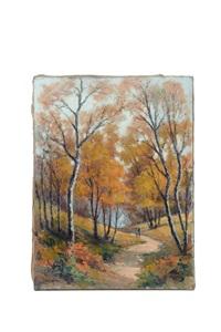sous bois en automne by narcisse henocque