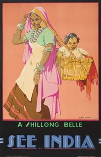 a shillong belle/see india by dorothy newsome