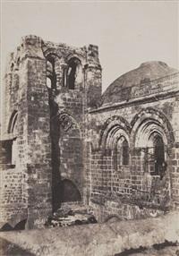 saint-sépulcre, jérusalem by auguste salzmann