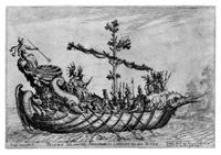 le navi degli argonauti (series of 19 works) by remigio cantagallina