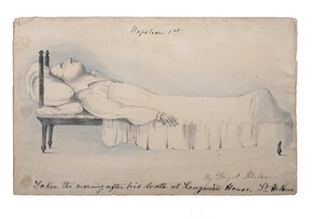 napoleon on his deathbed by denzil o ibbetson