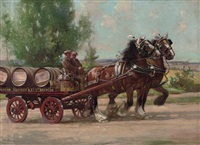 the brewery cart by arthur spooner