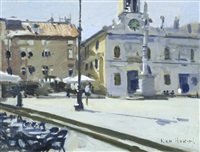 an italian square by ken howard