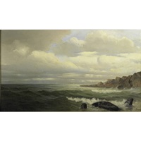untitled (early morning, coast of maine) by frank knox morton rehn