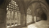 cloisters, batalha, portugal by dick arentz